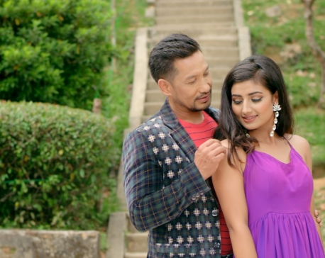 Richa and Aayan's  chemistry in Anju Panta's song