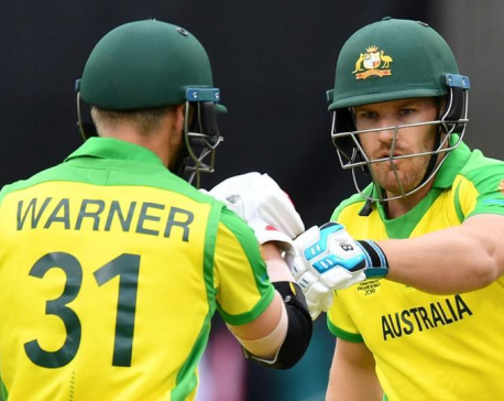 Finch powers Australia to 334-7 v Sri Lanka