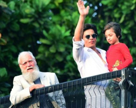 David Letterman joins Shah Rukh Khan for Eid