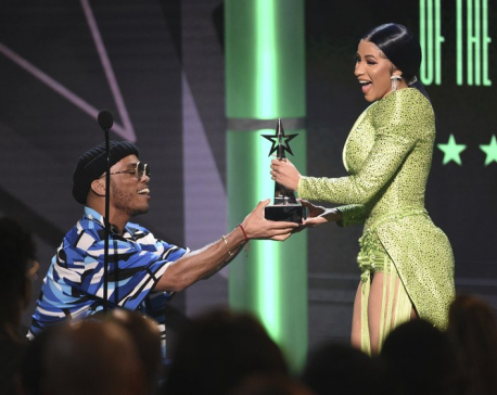 A list of winners at the 2019 BET Awards