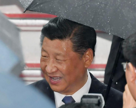 China's president, other leaders in Japan for G-20 meetings