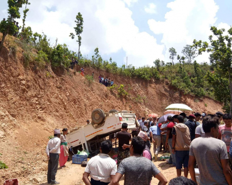 Bolero mishap claims five, injures 10 in Dhading