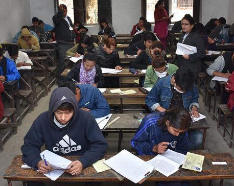 Over 92,000 students attending EPS-KLT examination