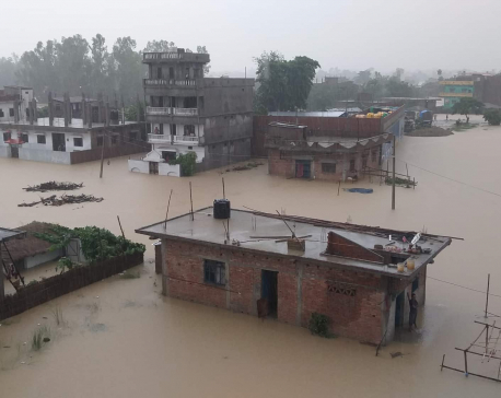 Ex-PM Nepal's home flooded amid heavy rainfalls