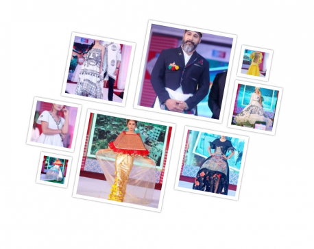 Glimpses of 'Heritage Fashion Show'
