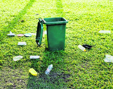 Litter, litter, everywhere
