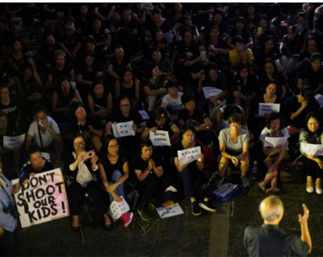 Hong Kong descends into chaos as protesters storm legislature