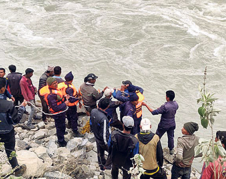 10 missing as jeep plunges into Karnali River