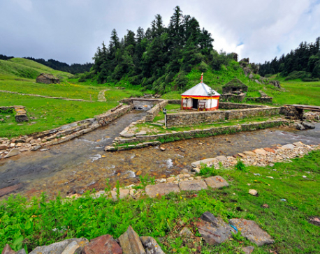Short route to Khaptad constructed