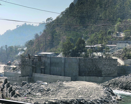 Work on Madhya Modi Hydropower Project resumes