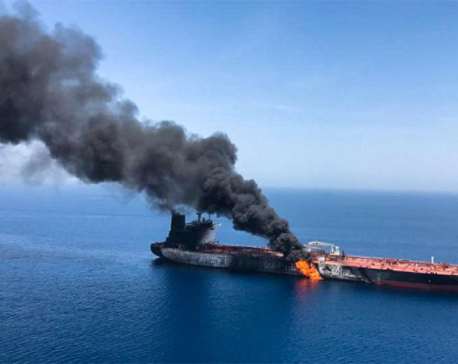 Trump blames Iran for tanker attacks as crisis fears rise