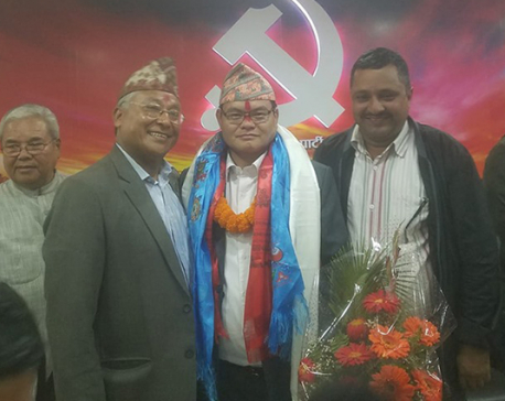 Key leader of Biplav-led party joins NCP