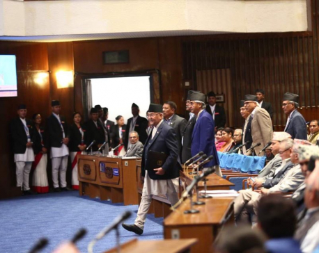 NC's House obstruction unparliamentary, Oli's advisors say (with pictures)