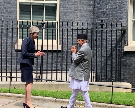 In Pictures: Oli meets May
