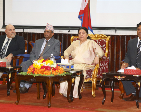 President Bhandari highlights need of research-based University education