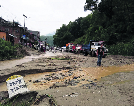 Highway prone to blockage due to 'illegal' sand mines