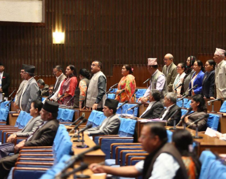 House session adjourned following NC's protest