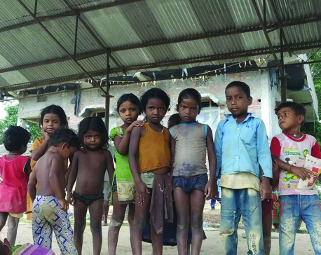 Dalit school struggling in lack of resources