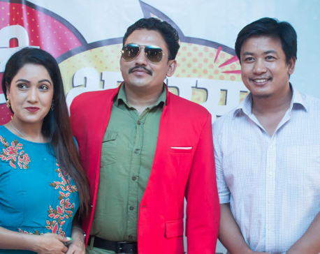 Dhurmus and Suntali debuting as movie producers