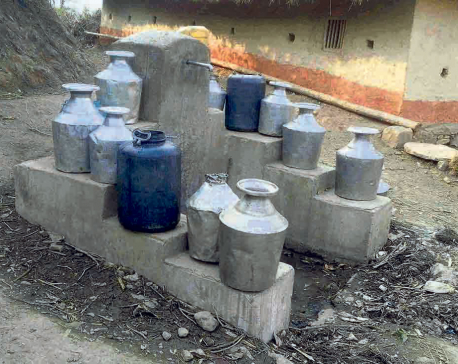 Water crisis pervasive in Kushma Bazaar