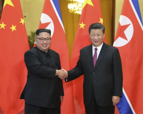 North says Kim, China's Xi discussed Korean Peninsula issues