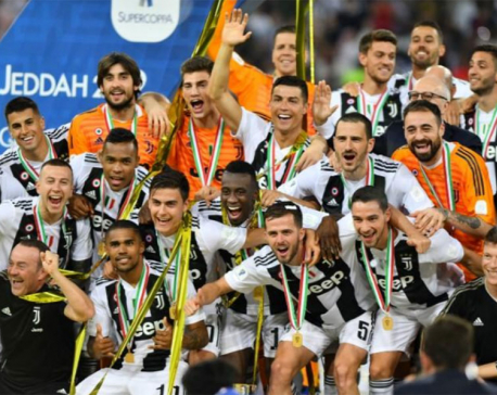 Ronaldo secures Italian Super Cup glory for Juventus