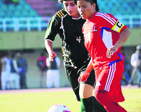 Anu Lama excluded from Nepal's squad for SAFF