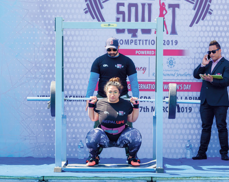 First round of Women's Squat Tournament concluded