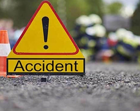 Two killed, eight severely injured in Dolakha bus accident