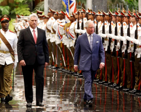 Prince Charles meets Cuban president on historic trip to Havana