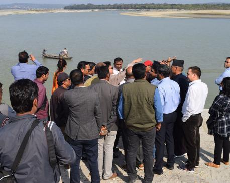 Feasibility study on waterways operation in Nawalparasi