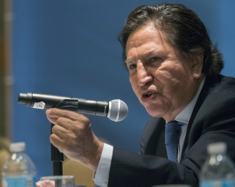 Ex-Peru president arrested in California for drunkenness