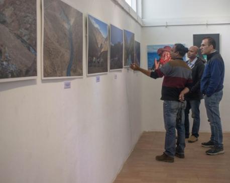 'The Karnali' on display