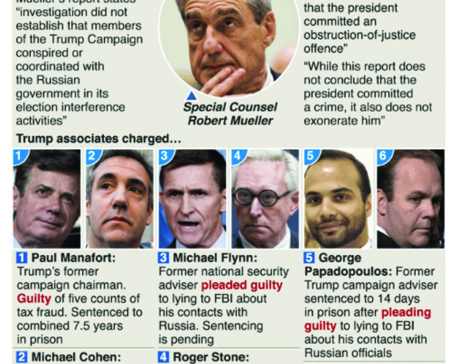 Infographics: The Mueller investigation