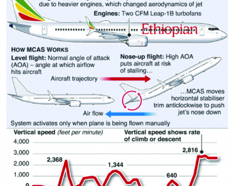 Infographics: China grounds Boeing 737 MAX 8 jets