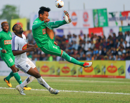 Jhapa XI beats Sahara to reach quarters