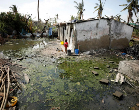 Mozambique confirms first cholera cases in wake of cyclone