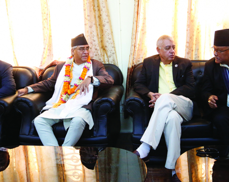 Fractured Nepali Congress