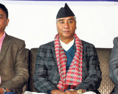 Govt-Raut deal seditious: Deuba