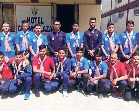 Nepal U-19 off to Andhra Pradesh to prepare for qualifiers