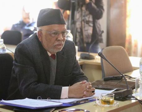 Envoy Acharya presents credentials to Indian President Kovind