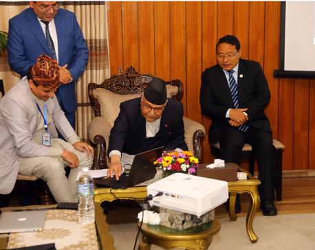 Prime Minister Oli buys Trishuli III 'B' share