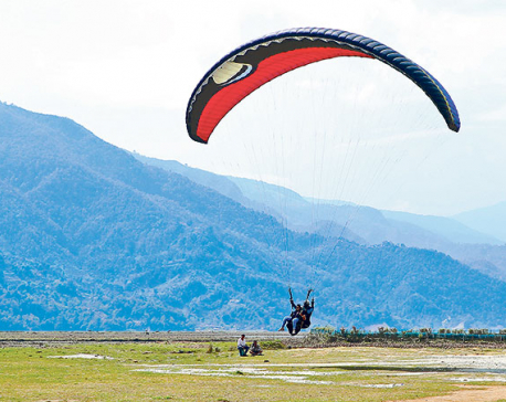 Pokhara to ban paragliding companies not paying renewal fees