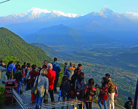 Tourists being charged fees unfairly in Sarankot: Entrepreneurs