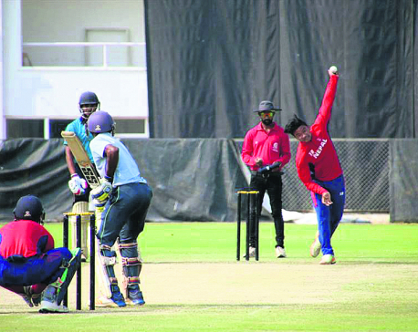 Nepal U-19 loses to Andhra Pradesh in second practice match