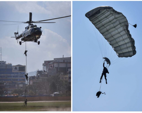 IN PICS: Nepal Army exhibits showmanship on Army Day