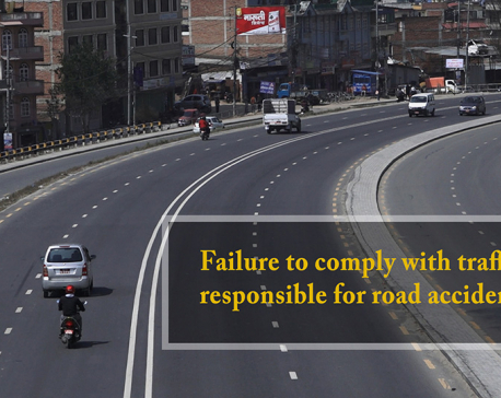 Failure to comply with traffic rules responsible for road accidents (with video)