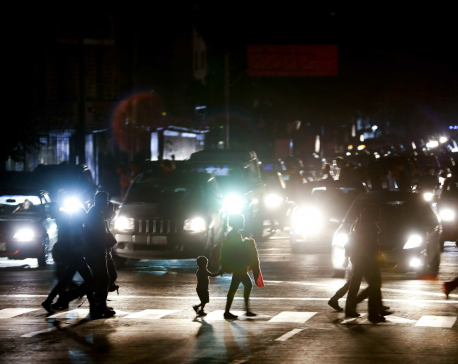 Huge power outage in Venezuela raises tensions amid crisis