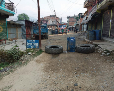 Protestors shut road, market over Budhi Gandaki compensation delays