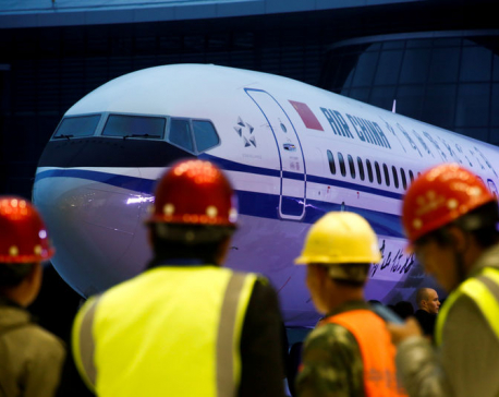 China orders its airlines to suspend use of Boeing 737 Max aircraft